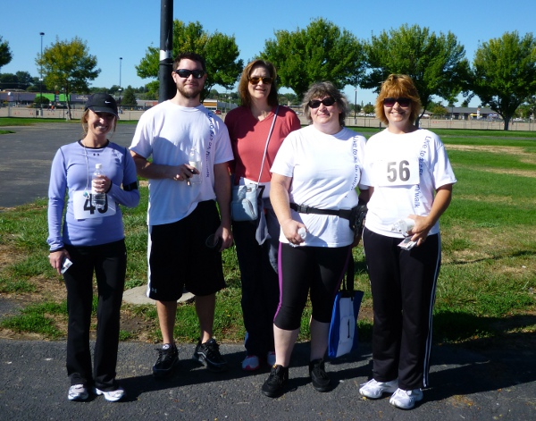 AHV Crew at Live to Bfit 5k