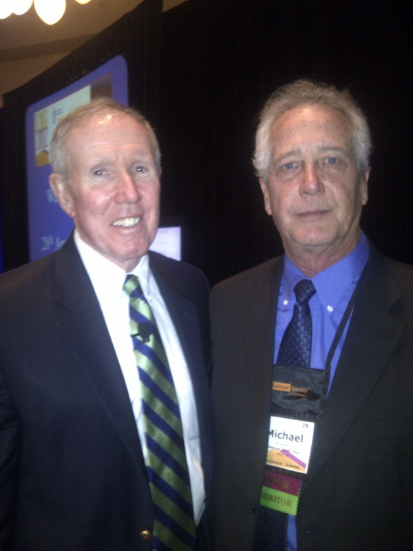 American Health Value CEO Michael Berry with Bill Driscoll