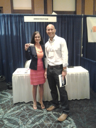 Rebecca with OVO Health at IHC Forum West 2012