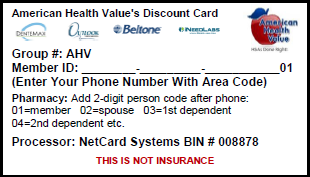 Free Healthcare Discount Card