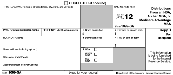 decoding hsa forms 1099-sa and 5498-sa