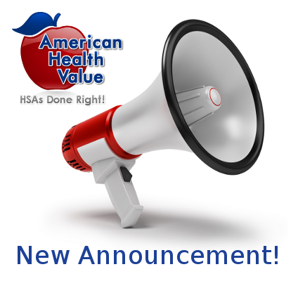 New HSA Announcement!